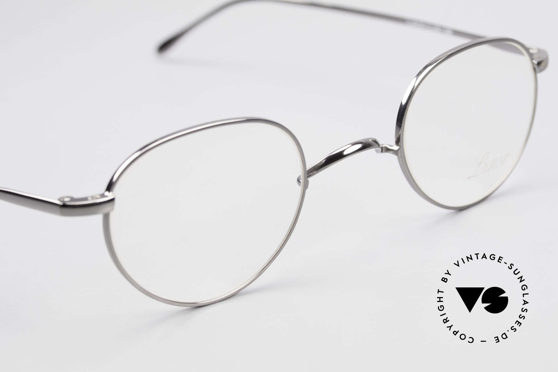 Lunor Club 501 GM Metal Glasses Anatomic Bridge, unworn RARITY (for all lovers of quality) from app. 2009, Made for Men and Women