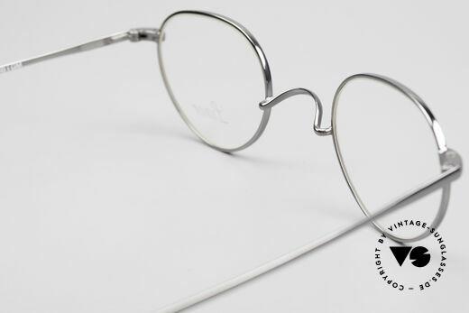 Lunor Club 501 GM Metal Glasses Anatomic Bridge, the precious Lunor eyeglass-frame can be glazed optionally, Made for Men and Women