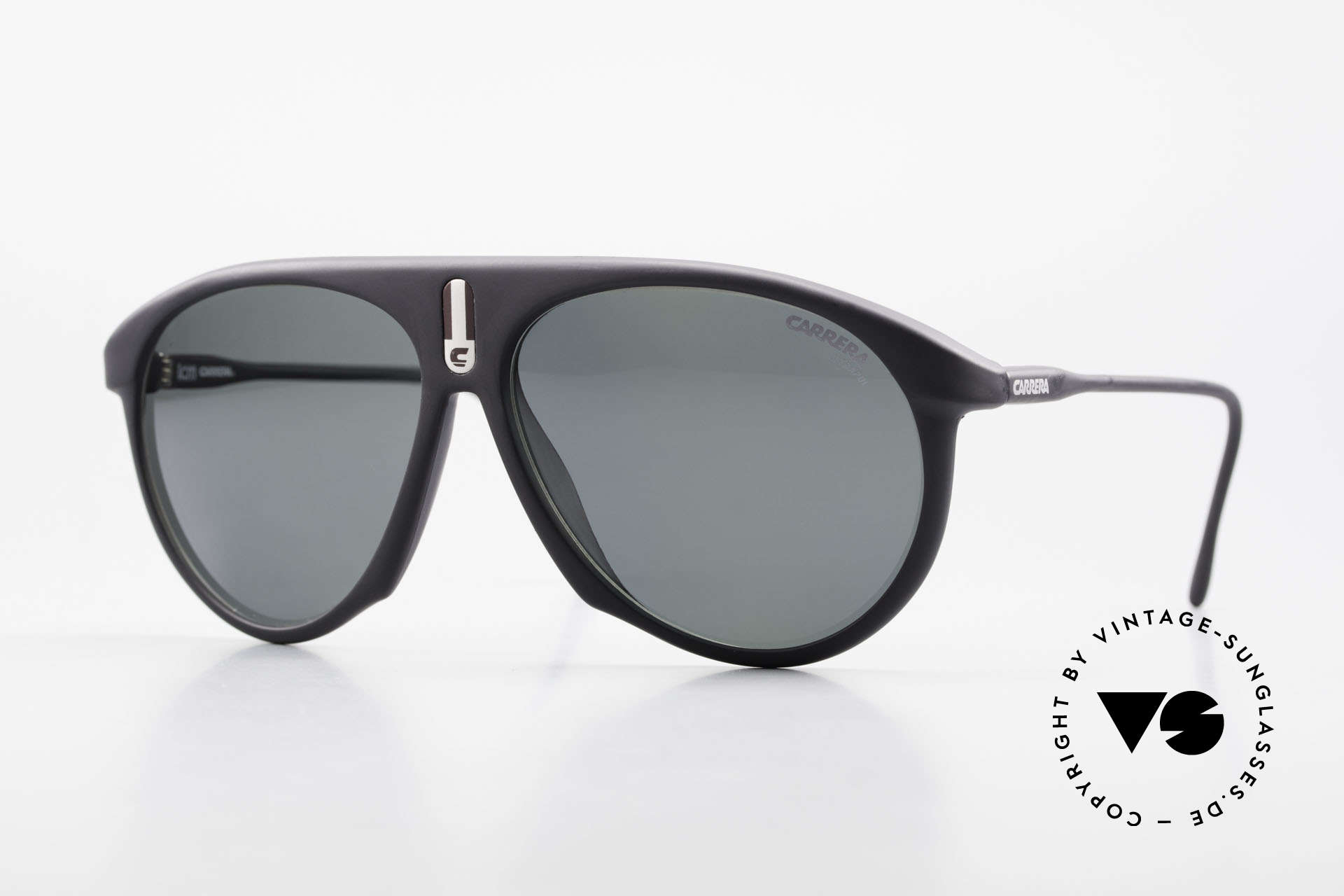 Carrera 5427 80's Polarized Sports Shades, Carrera '5427 Sprinter' sports shades from 1988, Made for Men and Women