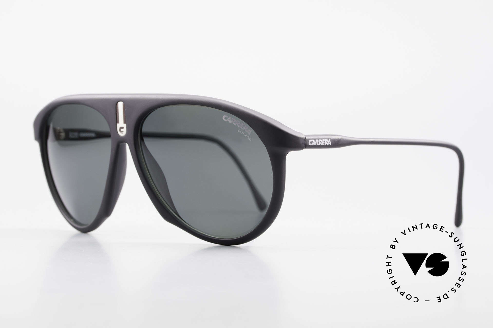 Carrera 5427 80's Polarized Sports Shades, state-of-the-art lenses (2 sets) & with orig. case, Made for Men and Women