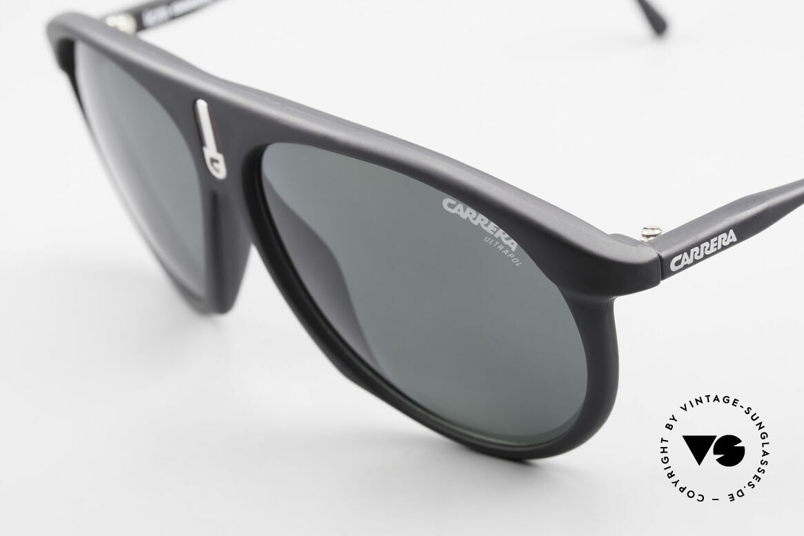 Carrera 5427 80's Polarized Sports Shades, 1x gray ULTRAPOL & 1x C-Vision gray-gradient, Made for Men and Women