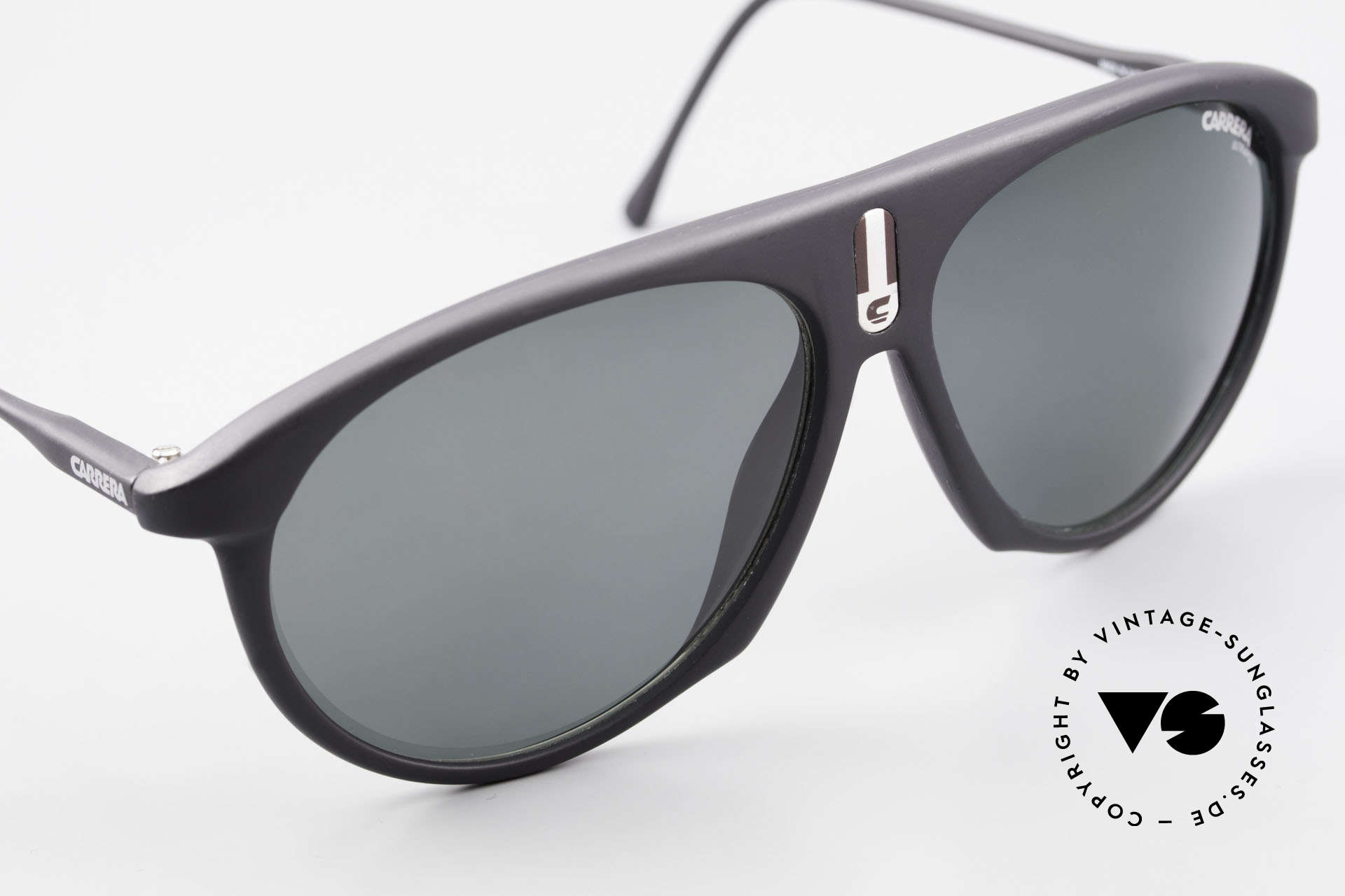 Carrera 5427 80's Polarized Sports Shades, new old stock (like all our 80's Carrera sunnies), Made for Men and Women