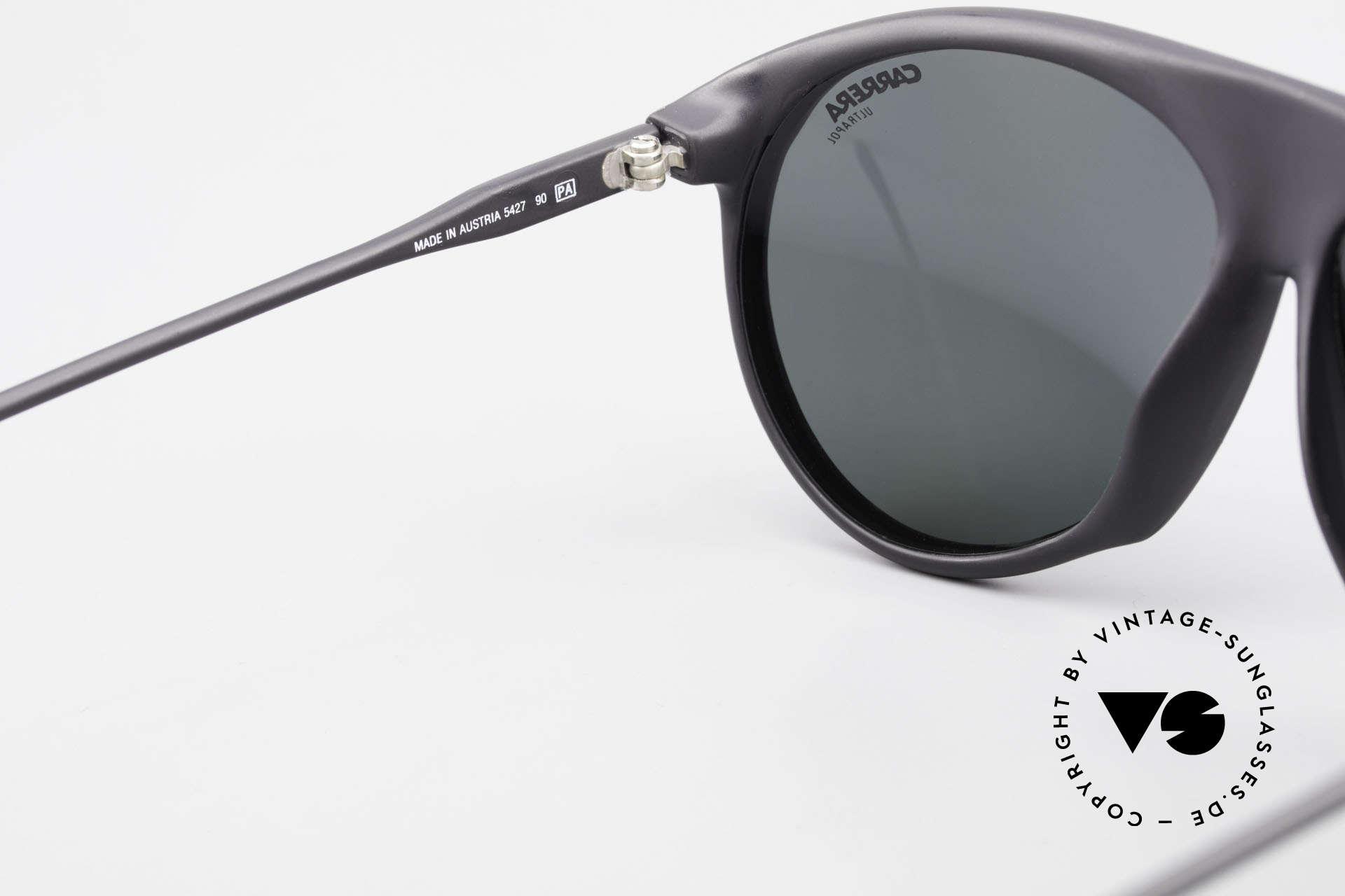 Carrera 5427 80's Polarized Sports Shades, NO RETRO sunglasses; a rare vintage ORIGINAL, Made for Men and Women