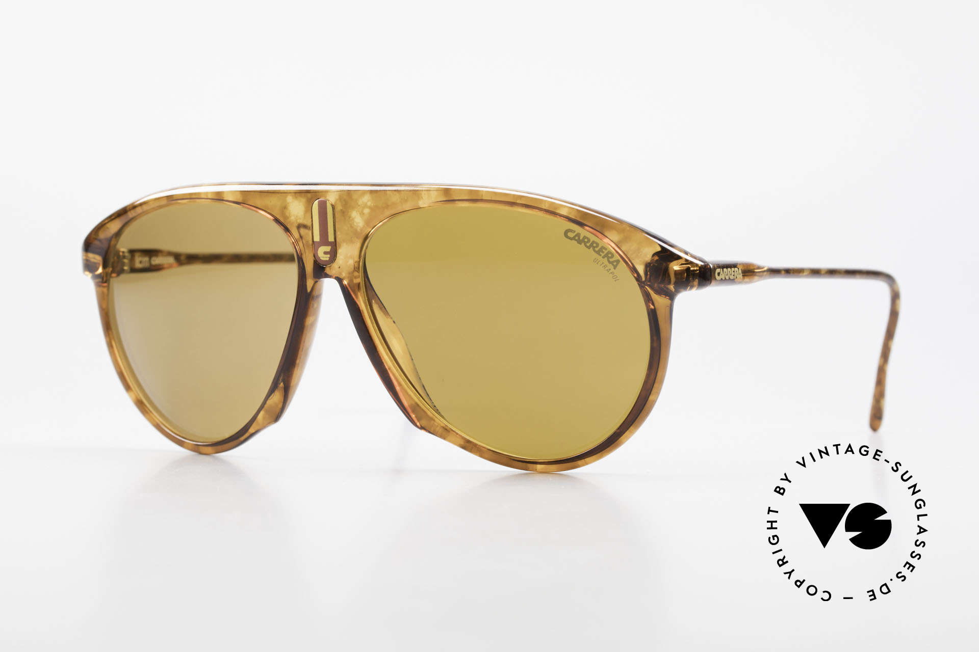 Carrera 5427 Polarized Sports Shades 80's, Carrera '5427 Sprinter' sports shades from 1988, Made for Men and Women