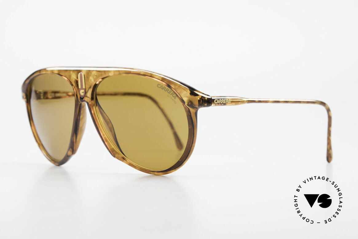 Carrera 5427 Polarized Sports Shades 80's, state-of-the-art lenses (2 sets) & with orig. case, Made for Men and Women
