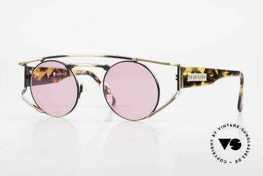 Neostyle Superstar 1 Steampunk Sunglasses Pink Details