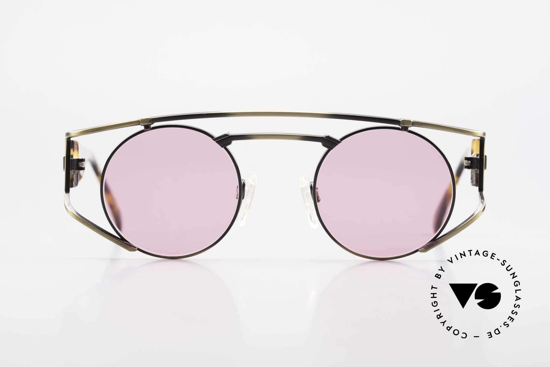 """Neostyle Superstar 1 Steampunk Sunglasses Pink, the name says it all: """"SUPERSTAR vintage glasses"""", Made for Men and Women"""