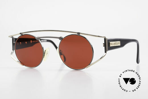 Neostyle Superstar 1 Steampunk Sunglasses 3D Red Details