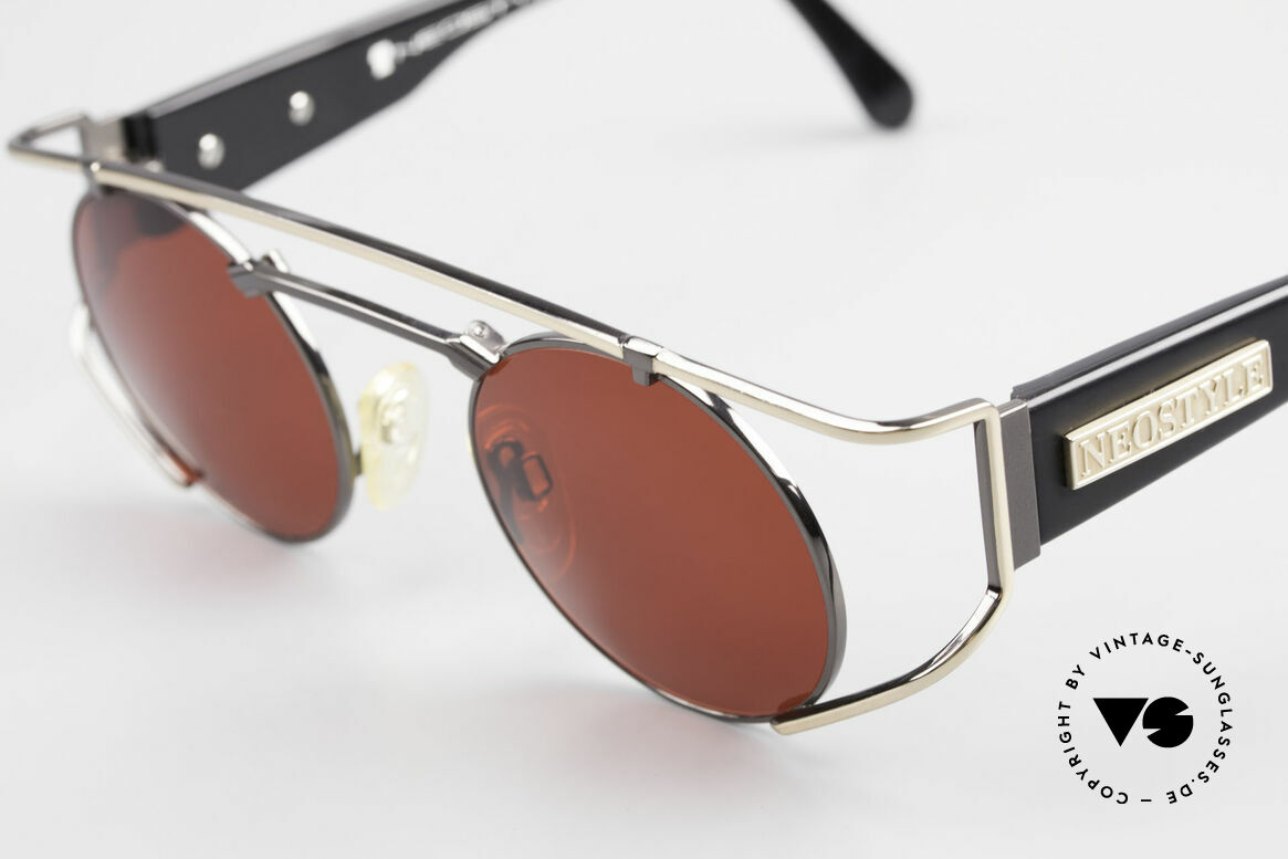Neostyle Superstar 1 Steampunk Sunglasses 3D Red, unworn (like all our vintage STEAMPUNK glasses), Made for Men and Women