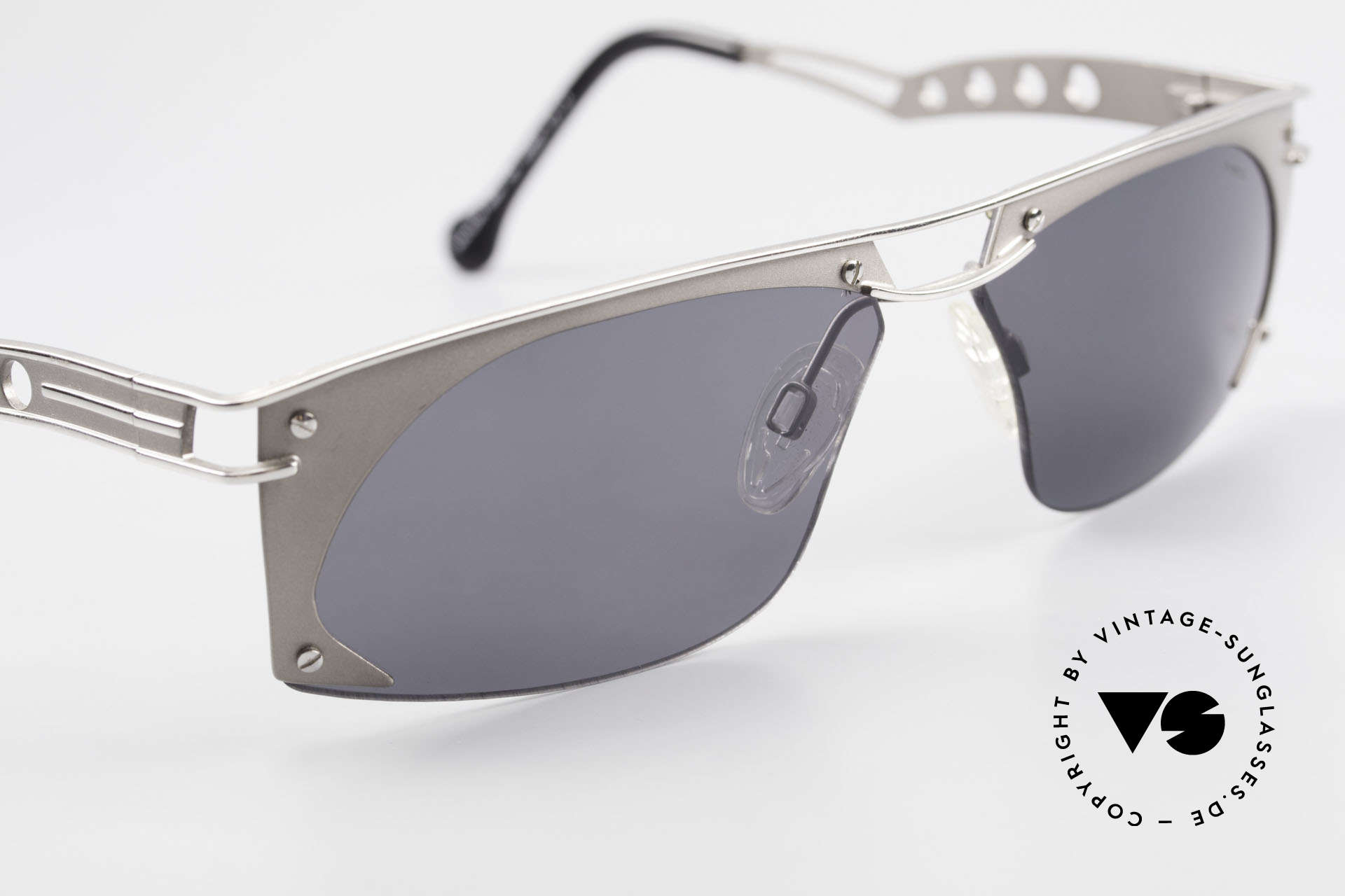 Neostyle Holiday 968 1990's Steampunk Sunglasses, NO RETRO shades, but a rare ORIGINAL with case, Made for Men