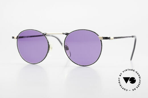Neostyle Academic 2 80's Purple Panto Sunglasses Details