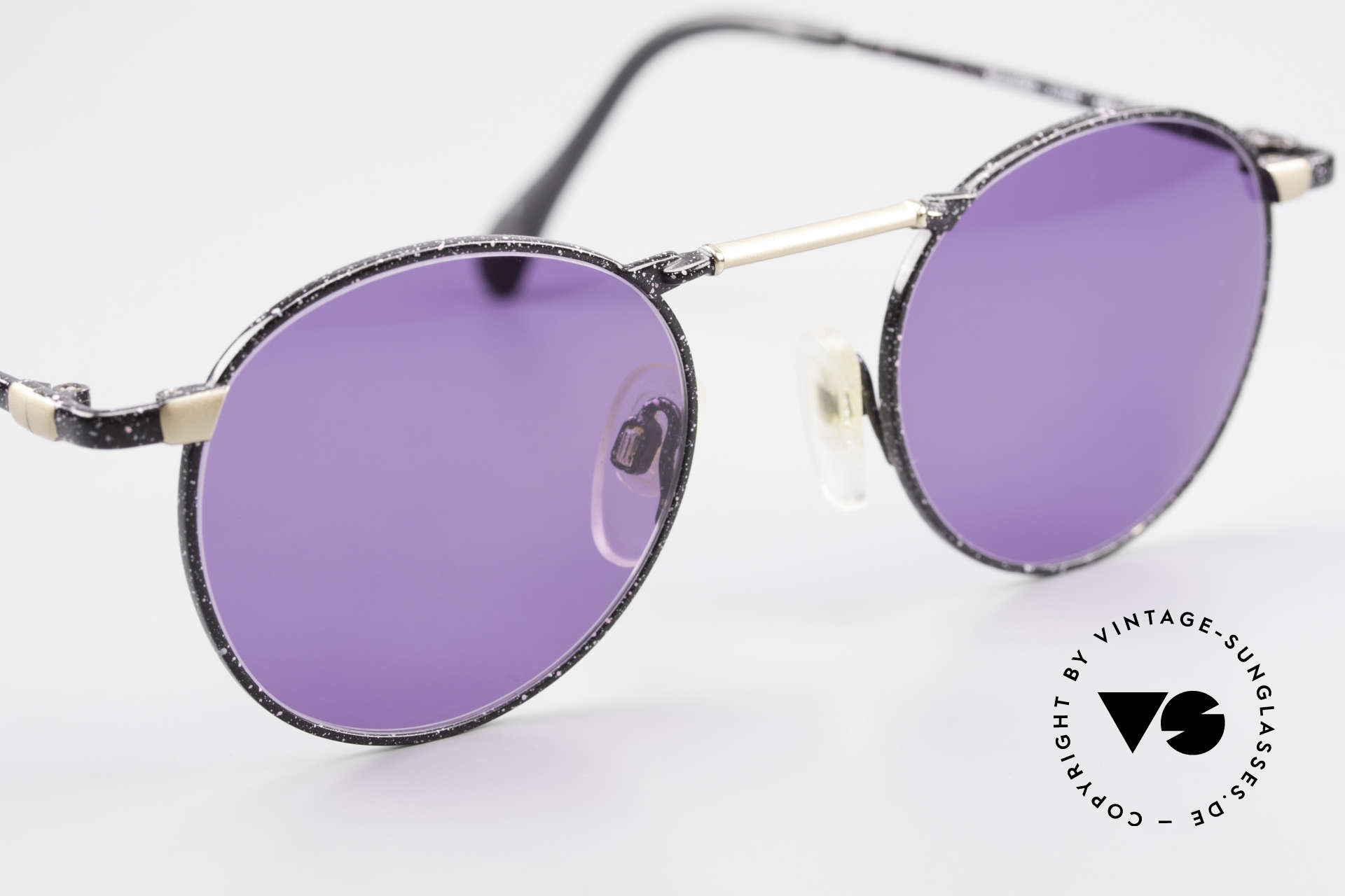 Neostyle Academic 2 80's Purple Panto Sunglasses, never worn, NOS (like all our vintage eyewear), Made for Men and Women