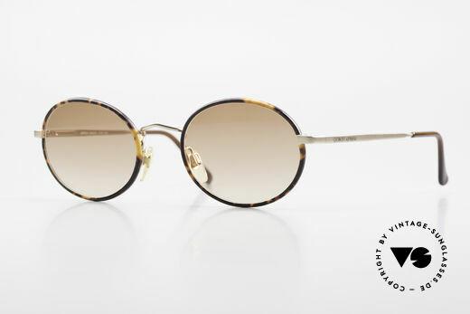 Giorgio Armani 235 Oval Vintage 80's Sunglasses Details