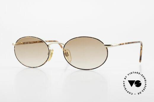 Giorgio Armani 192 80's Sunglasses Oval Vintage Details