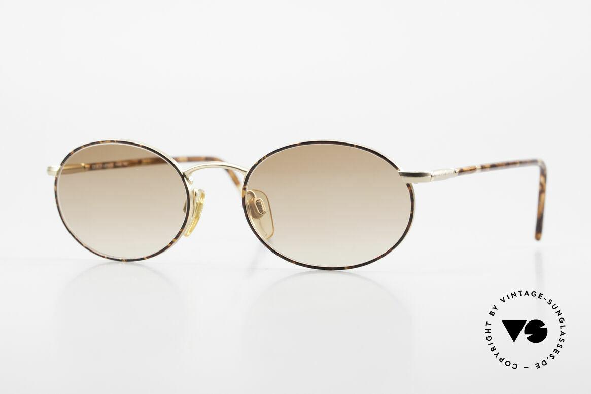 Giorgio Armani 192 80's Sunglasses Oval Vintage, oval vintage designer sunglasses by GIORGIO Armani, Made for Men and Women
