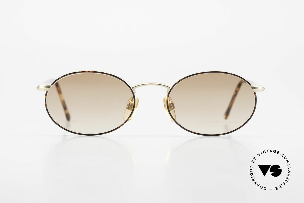 Giorgio Armani 192 80's Sunglasses Oval Vintage, a true classic in design & coloring (timeless elegant), Made for Men and Women