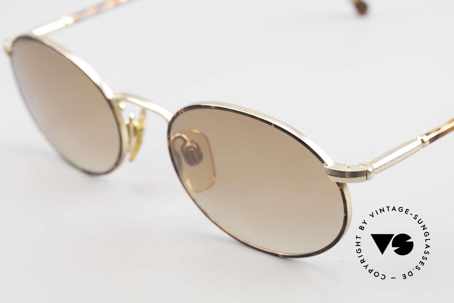 Giorgio Armani 192 80's Sunglasses Oval Vintage, NO RETRO GLASSES; a unique original by G. ARMANI, Made for Men and Women
