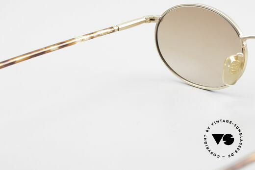 Giorgio Armani 192 80's Sunglasses Oval Vintage, the sun lenses (100% UV) could be replaced optionally, Made for Men and Women
