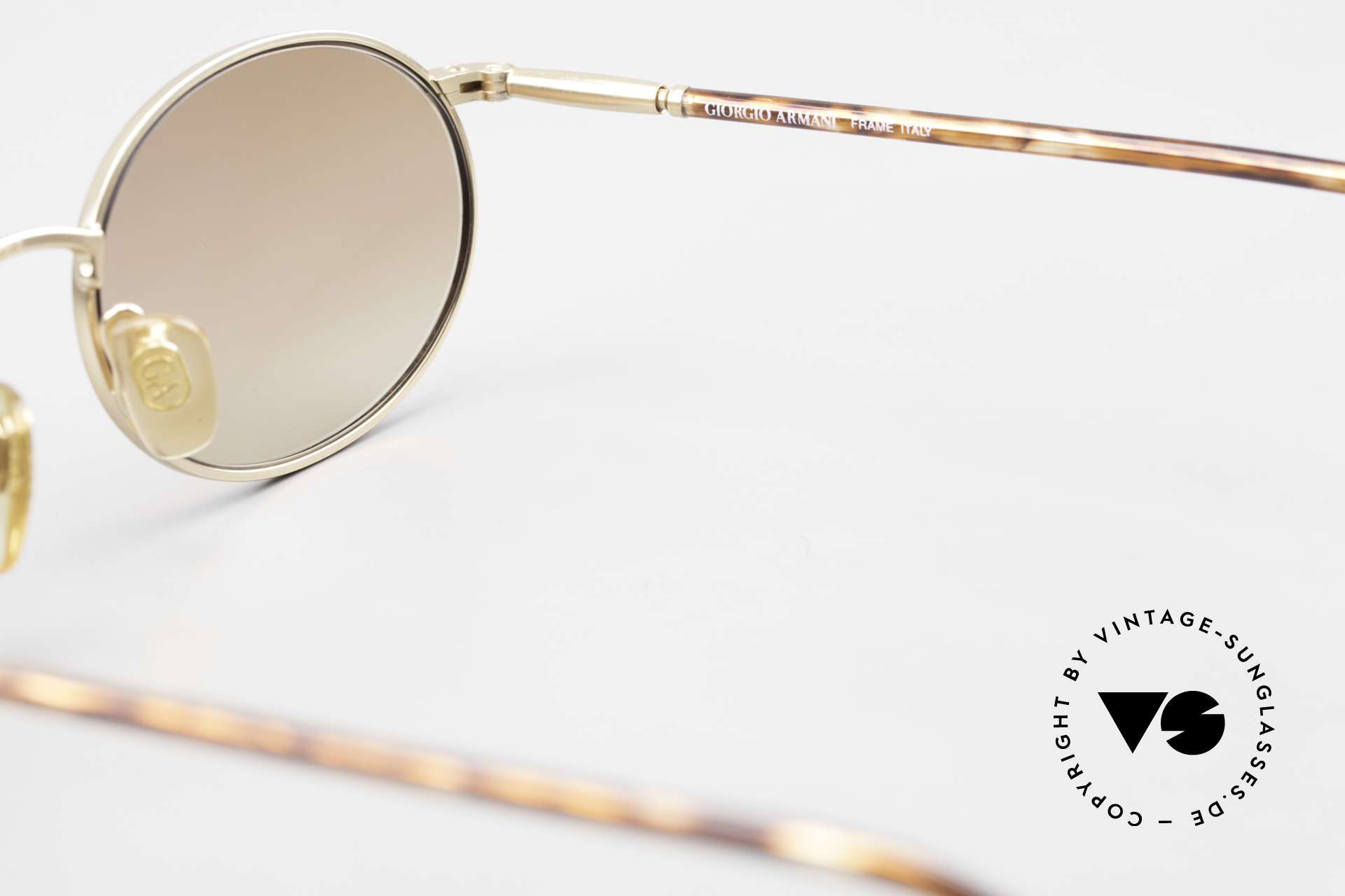Giorgio Armani 192 80's Sunglasses Oval Vintage, Size: medium, Made for Men and Women