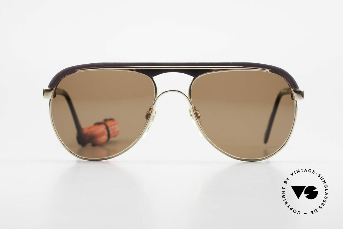 Metzler 0250 True Vintage 80's Sports Shades, top quality (made in Germany) with orig. sports strap, Made for Men