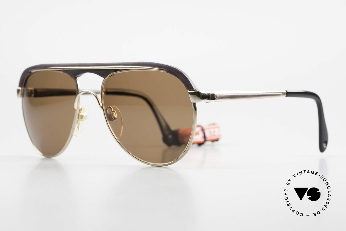 Metzler 0250 True Vintage 80's Sports Shades, durable metal frame (flexible & top wearing  comfort), Made for Men