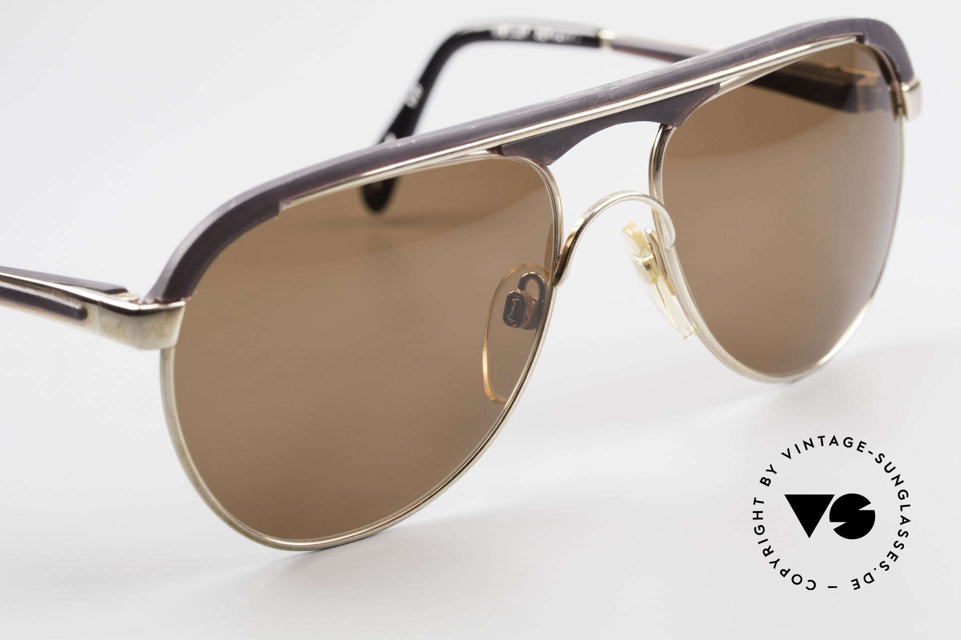 Metzler 0250 True Vintage 80's Sports Shades, NO retro shades, but an authentic 35 years old original, Made for Men