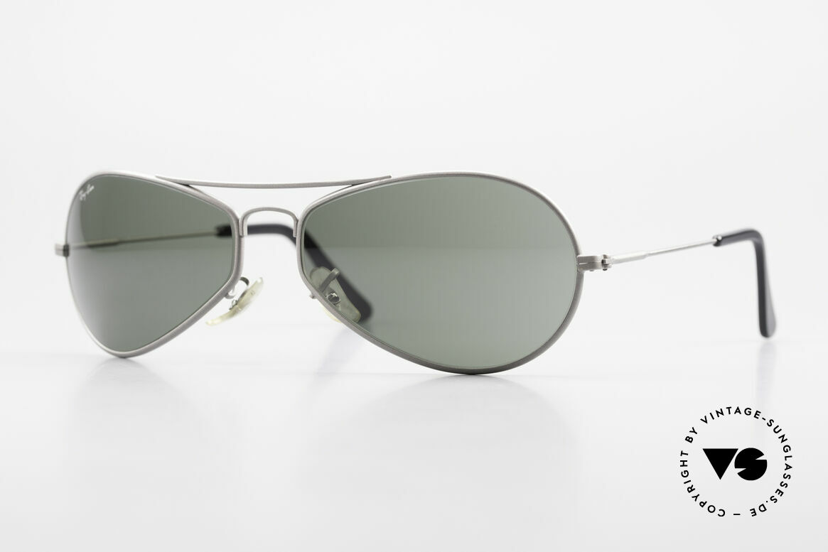 Ray Ban Air Boss Sporty 90's USA Ray-Ban Model, futuristic designer sunglasses by B&L RAY-BAN, Made for Men and Women