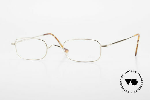 Lunor XV 321 Titanium Frame Gold-Plated Details