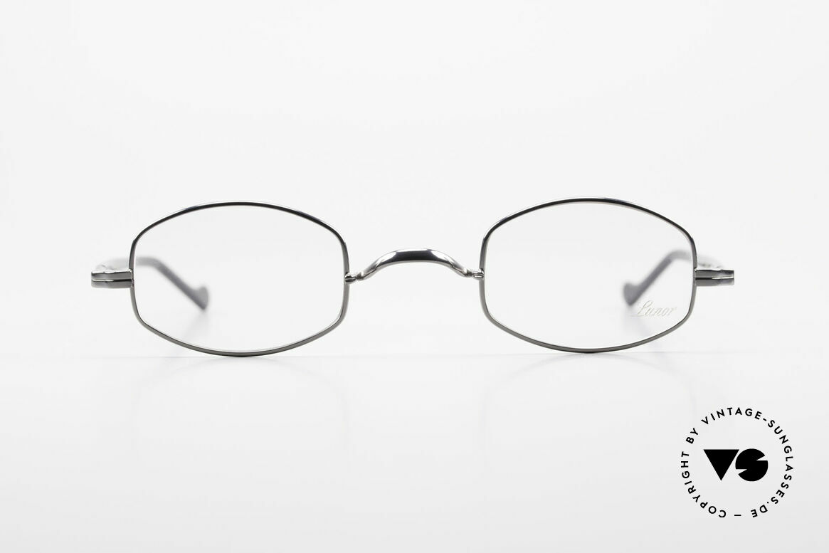 "Lunor II A 16 Metal Frame Acetate Temples, the frame front / frame design looks like a ""LYING TON"", Made for Men and Women"