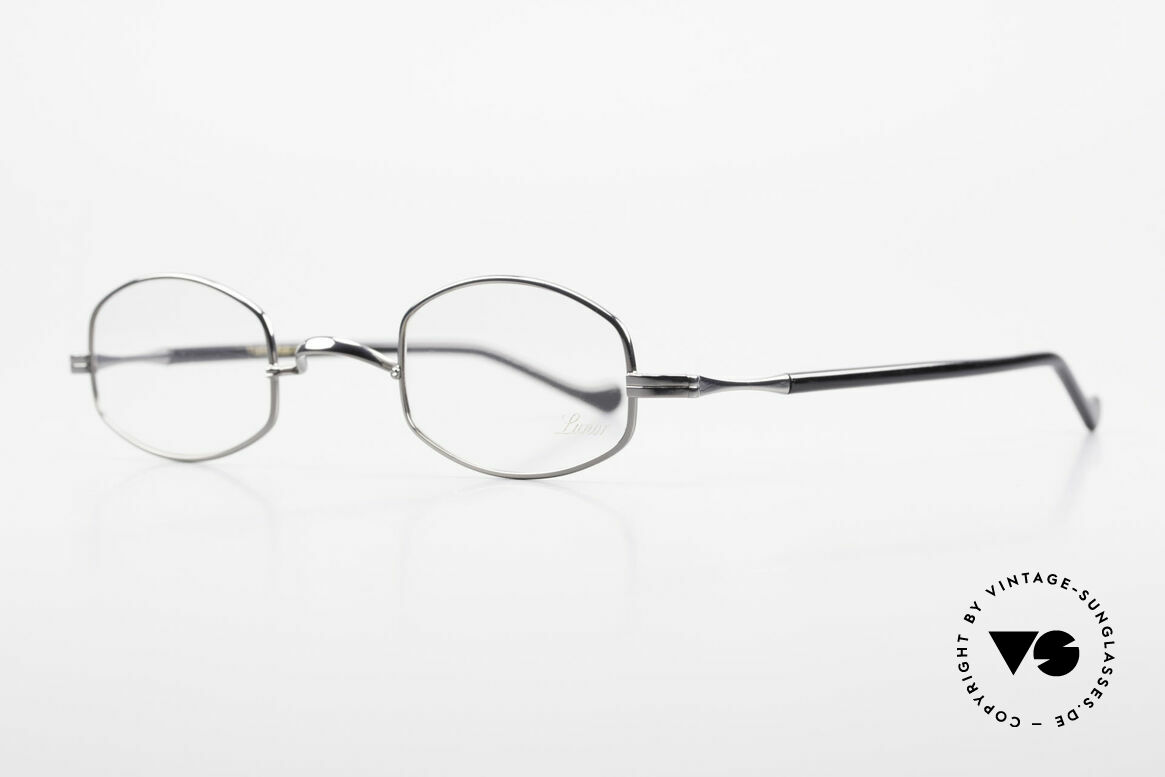 "Lunor II A 16 Metal Frame Acetate Temples, Lunor: shortcut for French ""Lunette d'Or"" (gold glasses), Made for Men and Women"