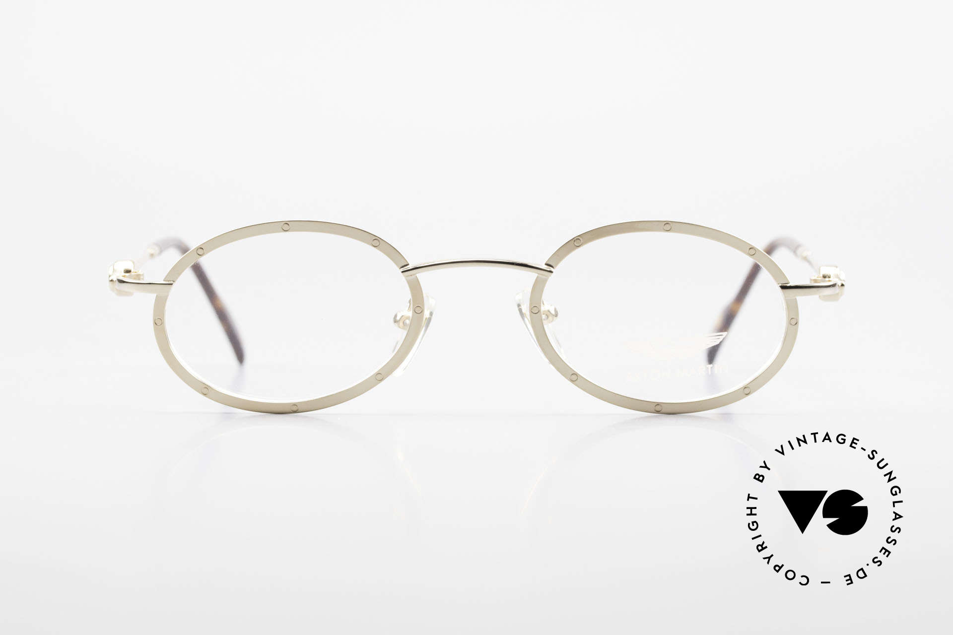 Aston Martin AM34 Oval James Bond Glasses 007, accessory for the luxury British sports cars; just noble!, Made for Men