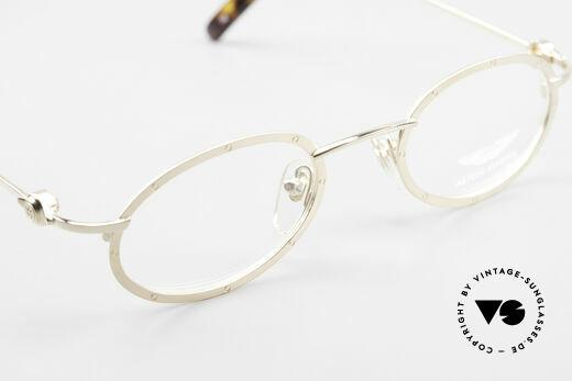 Aston Martin AM34 Oval James Bond Glasses 007, NO RETRO design glasses, but a unique 1990's original!, Made for Men