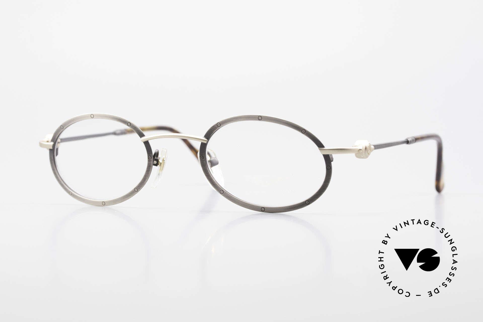 Aston Martin AM34 Oval Vintage Frame James Bond, Aston Martin vintage luxury designer eyeglasses, 47°23, Made for Men