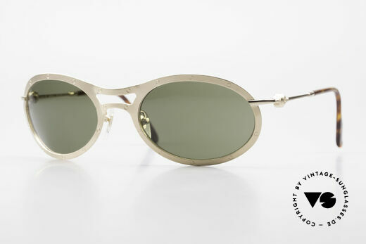 Aston Martin AM33 Sporty Luxury Sunglasses 90's Details