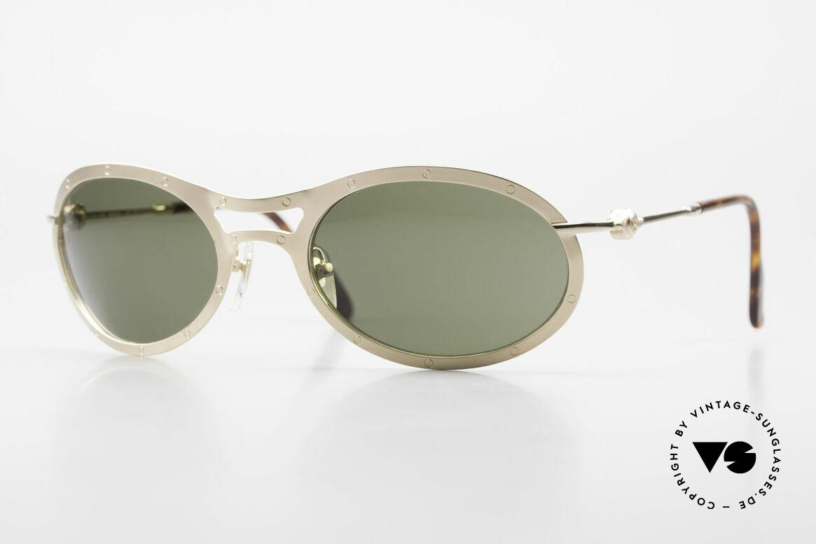 Aston Martin AM33 Sporty Luxury Sunglasses 90's, Aston Martin vintage luxury designer sunglasses, 59°22, Made for Men