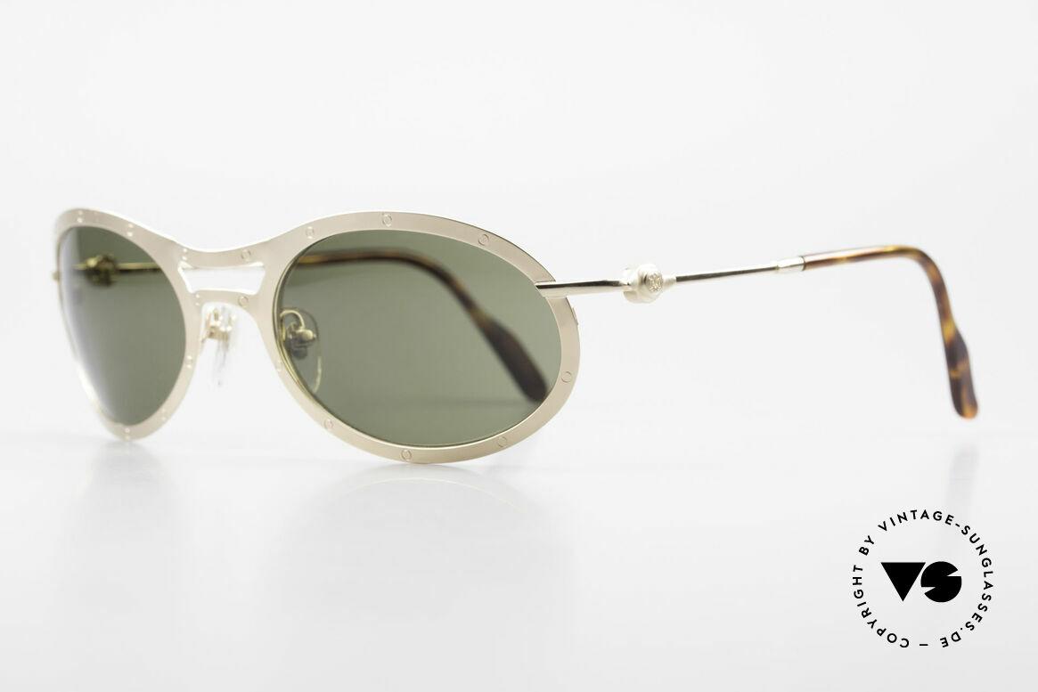 Aston Martin AM33 Sporty Luxury Sunglasses 90's, sporty and elegant classic: James Bond 'gentlemen style', Made for Men