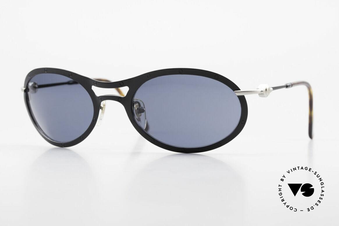 Aston Martin AM33 90's Wrap Around Sunglasses, Aston Martin vintage luxury designer sunglasses, 59°22, Made for Men