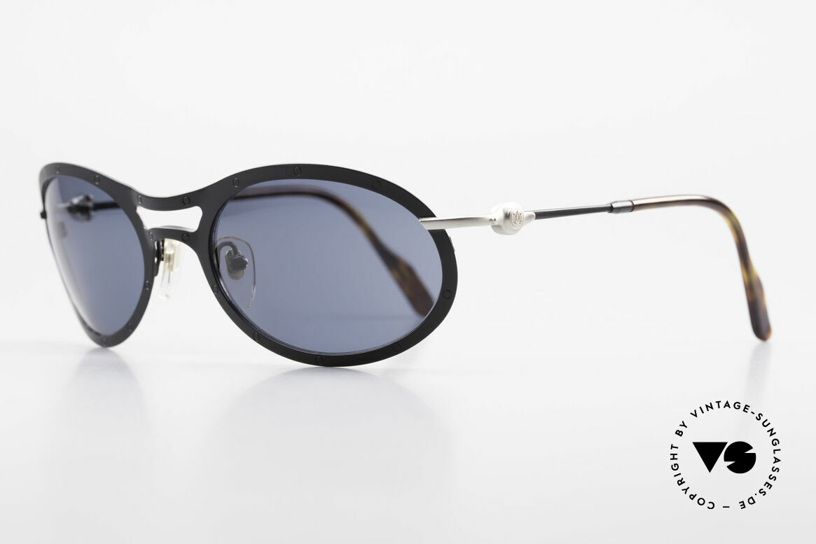 Aston Martin AM33 90's Wrap Around Sunglasses, sporty and elegant classic: James Bond 'gentlemen style', Made for Men