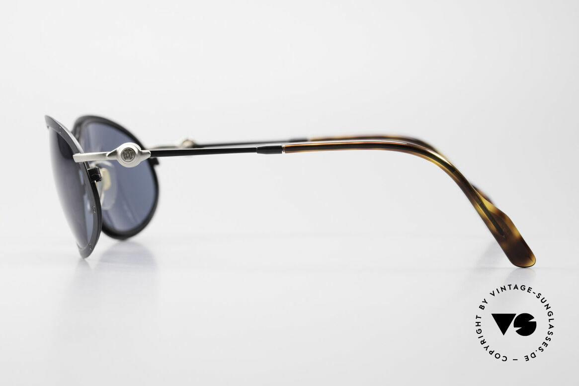 Aston Martin AM33 90's Wrap Around Sunglasses, precious rarity in TOP-quality + orig. Aston Marin case, Made for Men