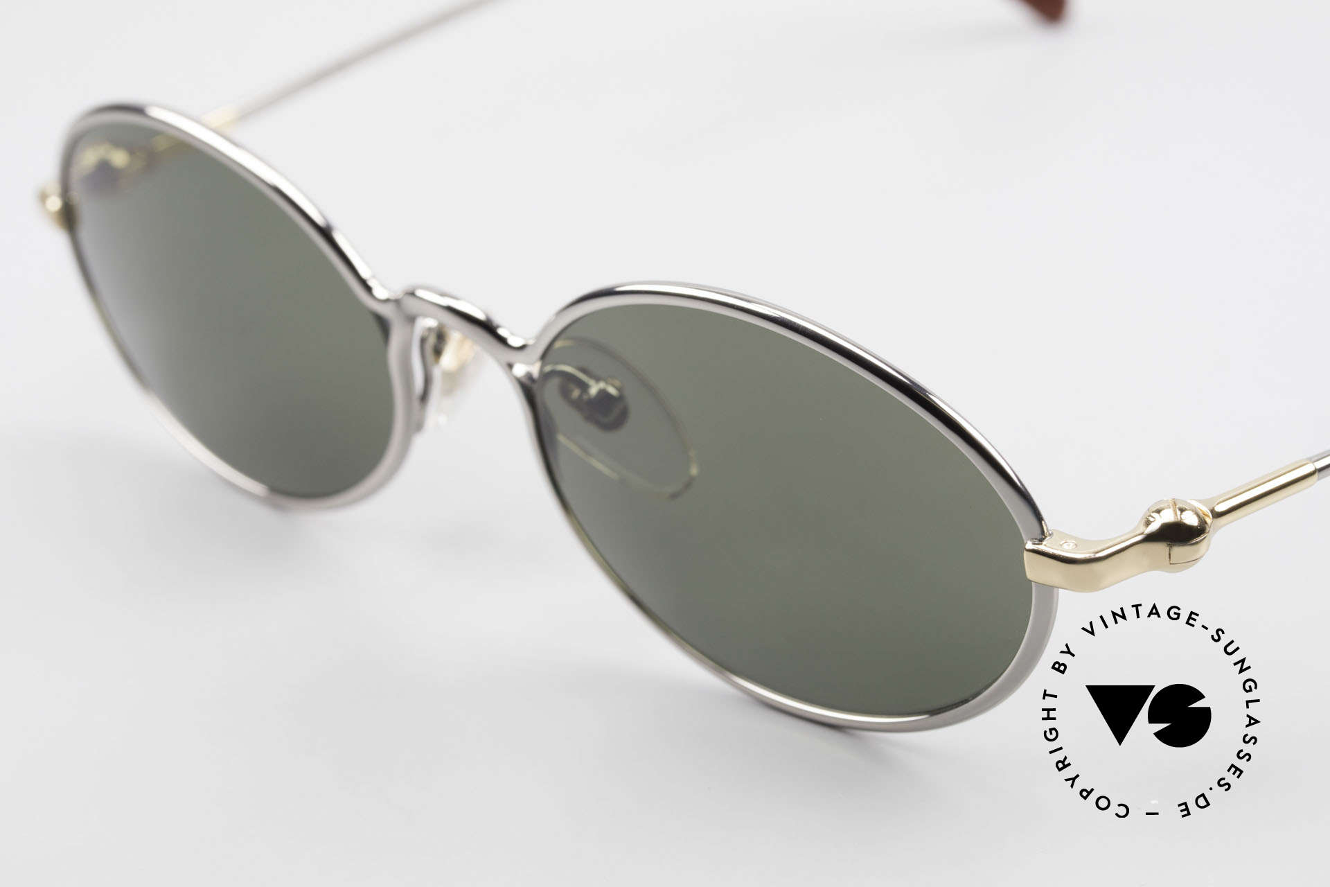 Aston Martin AM13 Oval Shades James Bond Style, precious rarity (with serial no.) + orig. Aston Martin case, Made for Men