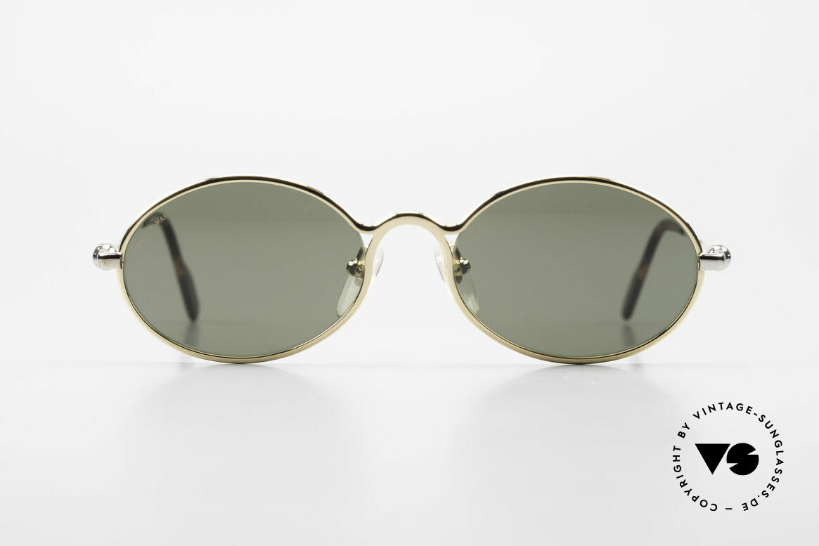 Aston Martin AM13 Oval Sunglasses James Bond, accessory for the luxury British sports cars; just noble!, Made for Men