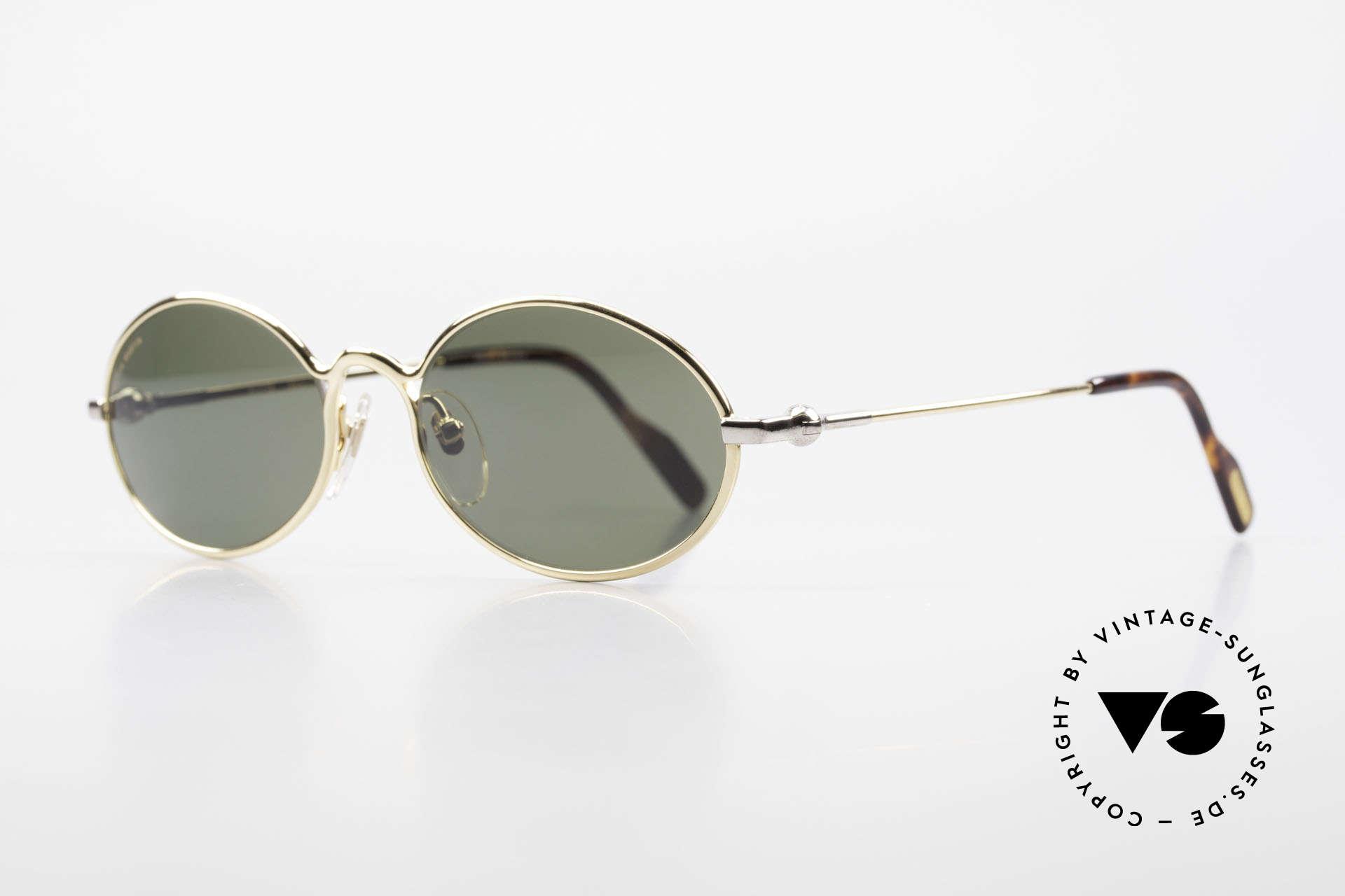 Aston Martin AM13 Oval Sunglasses James Bond, sporty and elegant classic: James Bond 'gentlemen style', Made for Men