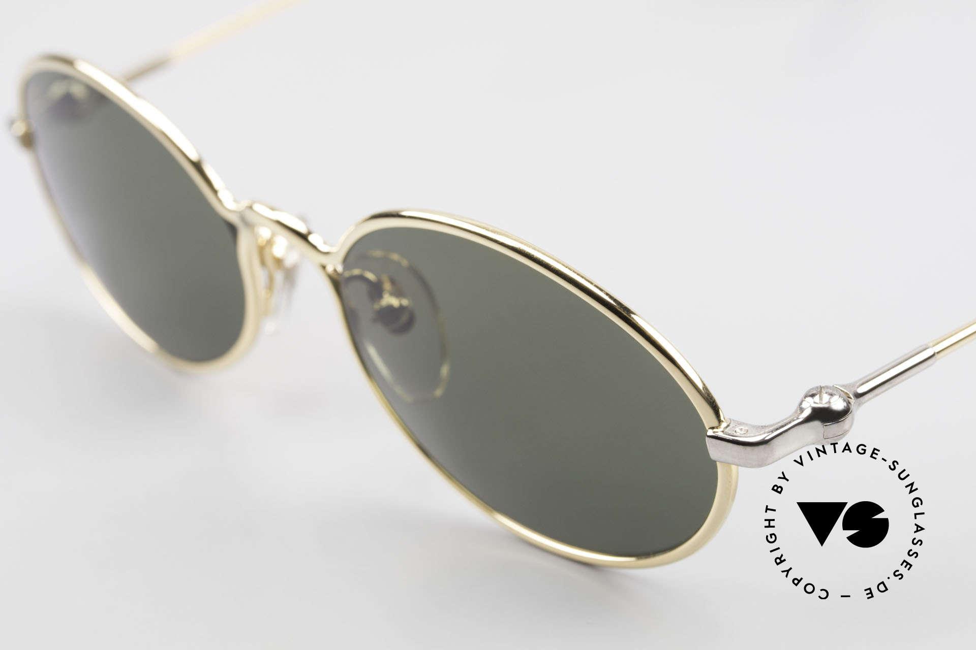 Aston Martin AM13 Oval Sunglasses James Bond, precious rarity (with serial no.) + orig. Aston Martin case, Made for Men
