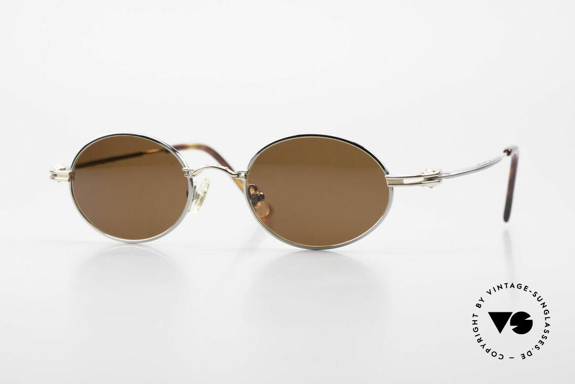 Aston Martin AM43 Ergonomic Oval Sunglasses, Aston Martin vintage luxury designer sunglasses, 48°19, Made for Men