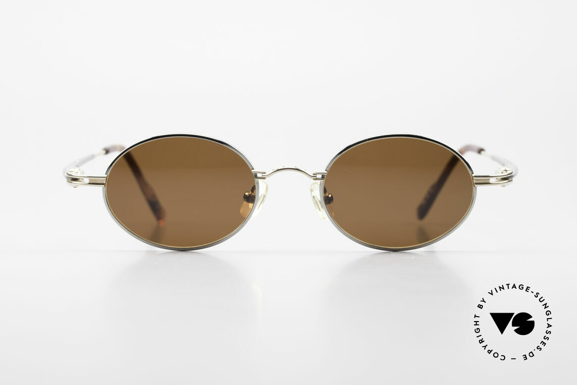 Aston Martin AM43 Ergonomic Oval Sunglasses, accessory for the luxury British sports cars; just noble!, Made for Men