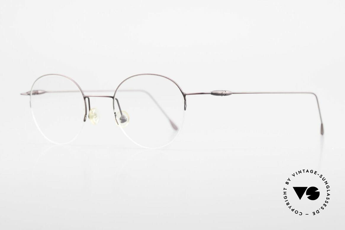 W Proksch's M61/12 Minimalist Semi Rimless Frame, plain frame design & Japanese striving for quality, Made for Men and Women