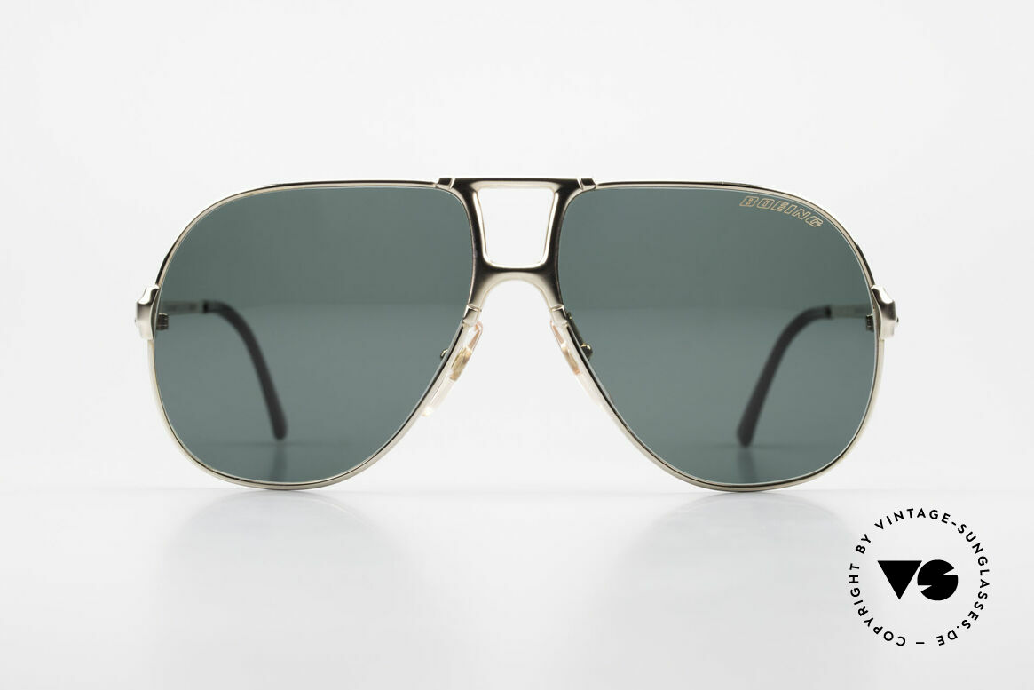 Boeing 5700 Large Old 80's Pilots Shades, made by Carrera only for the BOEING pilots needs, Made for Men