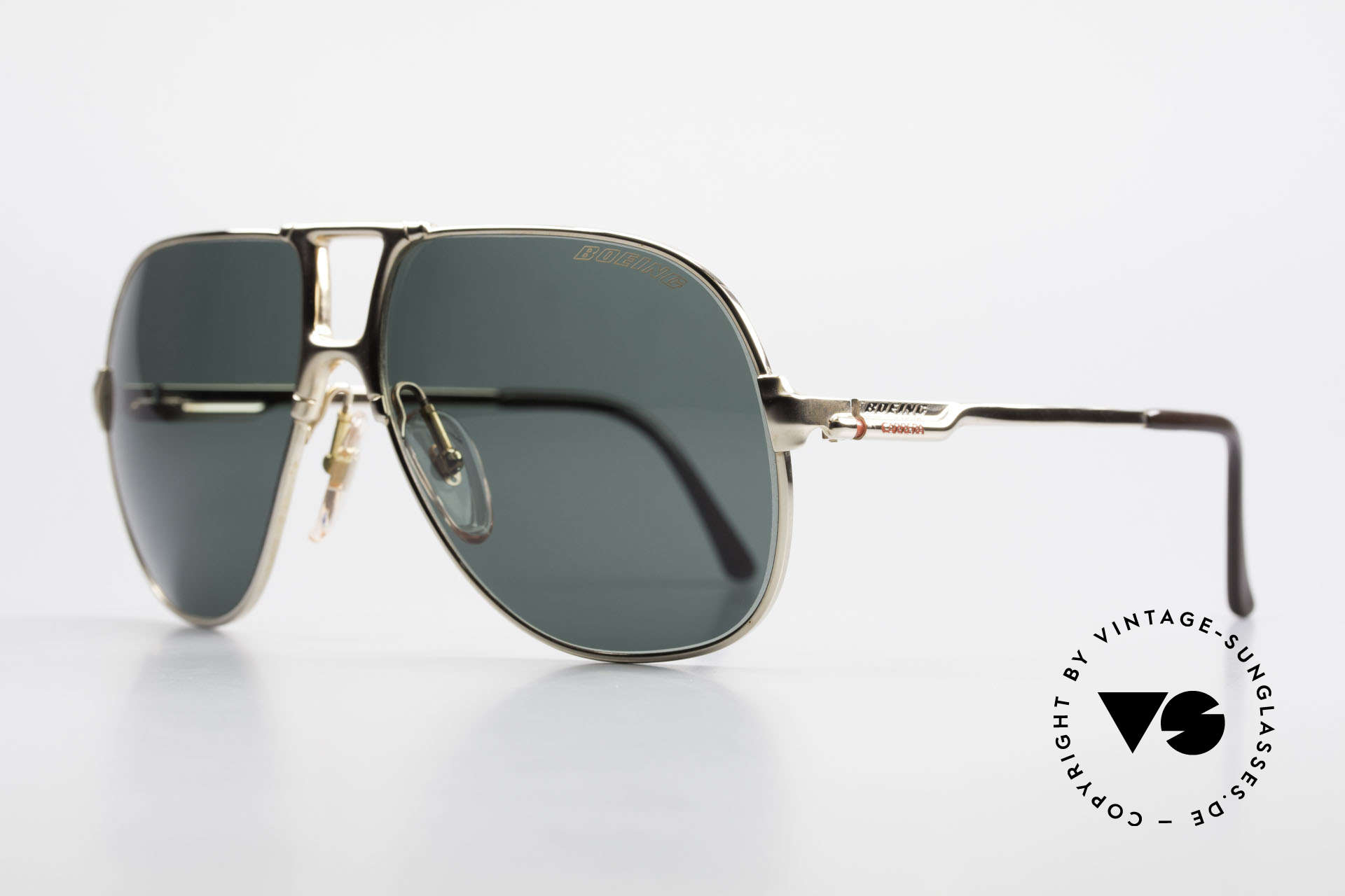 Boeing 5700 Large Old 80's Pilots Shades, hybrid between functionality, quality and lifestyle, Made for Men