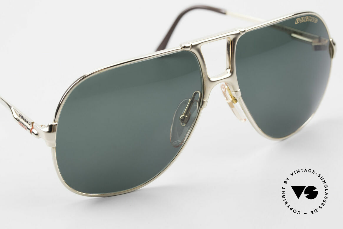 Boeing 5700 Large Old 80's Pilots Shades, new old stock (like all our BOEING aviator shades), Made for Men