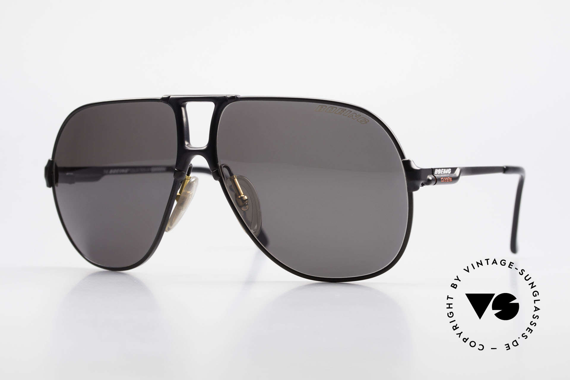 Boeing 5700 Vintage 80's Pilots Shades, The BOEING Collection by Carrera from 1988/1989, Made for Men and Women